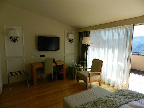 Kurhaus Cademario Hotel & Spa: Zimmer