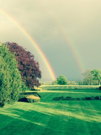 View from Laline Room, rainbows unfortunately not a permanent fixture!