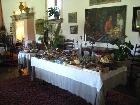 Villa dei Papiri : Breakfast buffet