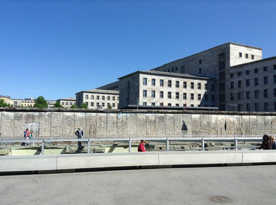 Topographie des Terrors : Берлинская стена
