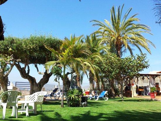 Hotel La Cumbre: area di relax con piscina
