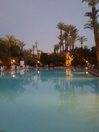 Hotel Riu Tikida Garden : just as the sun goes down