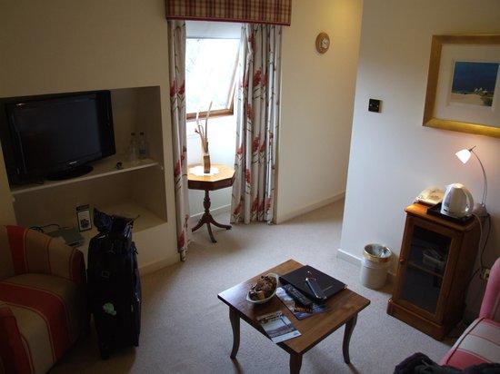 The Moorings Hotel : sitting area