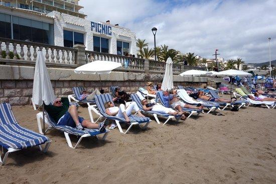 Playa de Sitges: The Beach at Sitges