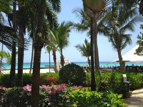 Viva Wyndham Dominicus Beach: Hotelanlage bei Restaurant Viva