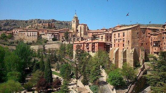Hotel Albarracin: vistas desde el hotel