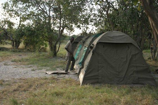 Savute Reserve: nuestro campamento