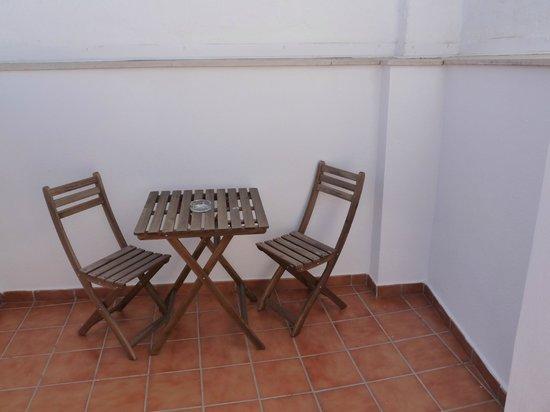Debambu: terrace area