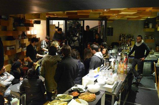Laltrolato Think Eat Drink: Interno climatizzato