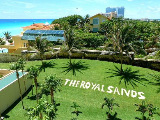 The Royal Sands Resort & Spa All Inclusive: View looking at property next door and beach