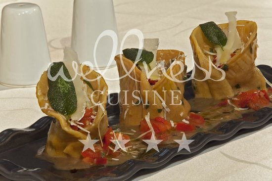 Wellness Cuisine: Trio tortelonni