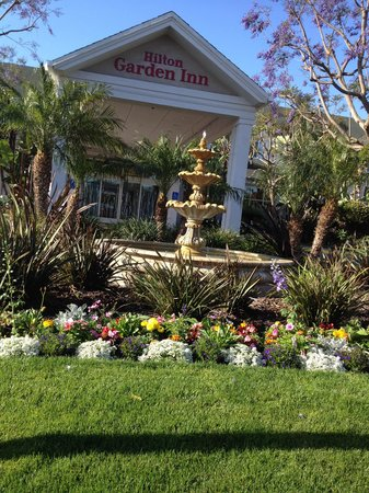 Hilton Garden Inn LAX/El Segundo: Beautiful garden