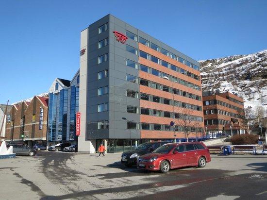 Thon Hotel Hammerfest Vom Rathausplatz