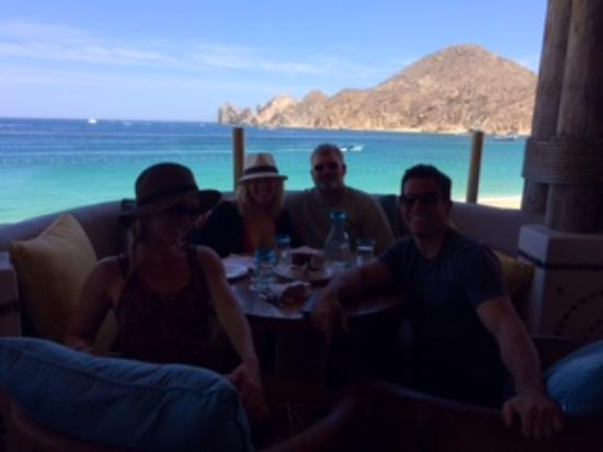 Hacienda Beach Club and Residences: Photo on the last day of lunch before the airport