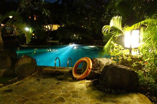The Royal Beach Seminyak Bali - MGallery Collection: Garden Pool At Night