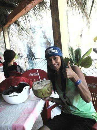 Sea Safari by Vallarta Adventures : Hmmm Coconut!