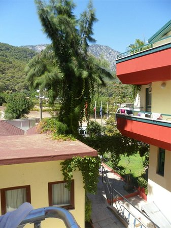 Sumela Garden Hotel: Вид из окна