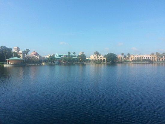 Disney's Coronado Springs Resort : View across the lake
