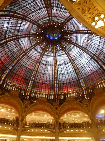 Galeries Lafayette: Dome at Lafayette