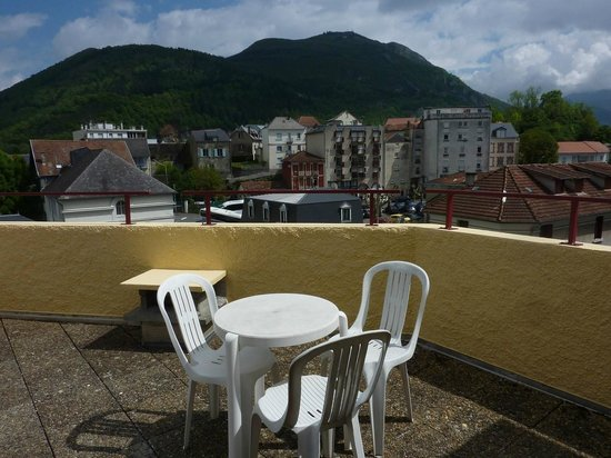 Hôtel de la Vallée : terrasse