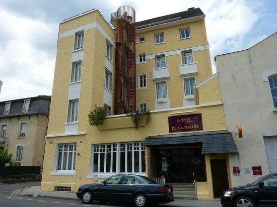 Hôtel de la Vallée : façade 1