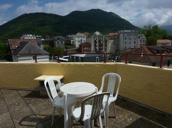 Hotel de la Vallee: terrasse
