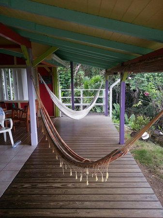 Gite Macanao : Notre terrasse