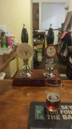 Llandovery, UK: The Bluebell Inn is the very first pub in britain to serve Jacobi real ales on tap