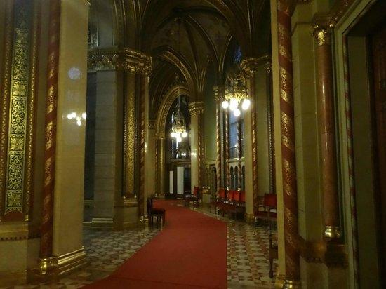 Parlement : Couloir