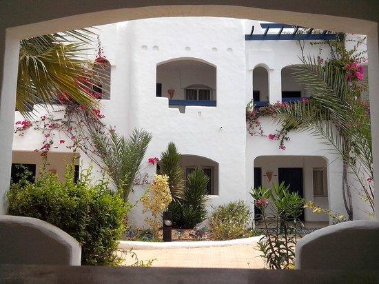 Fiesta Beach Club Djerba : vue de la fenêtre