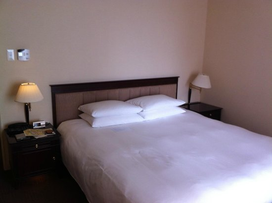 Hyatt Regency Tokyo: Vue du lit