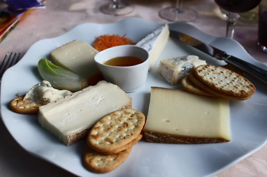 Ristorante Bilacus : The more than ample cheese plate