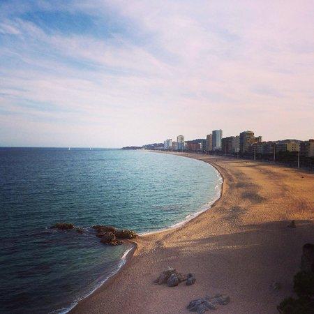 Hotel Costa Brava: Vue de la chambre