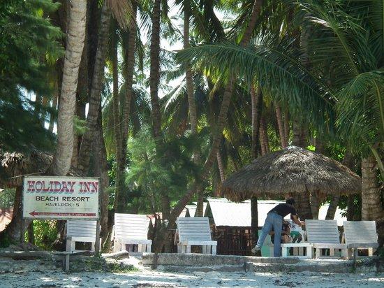 Holiday Inn Beach Resort: View from beach