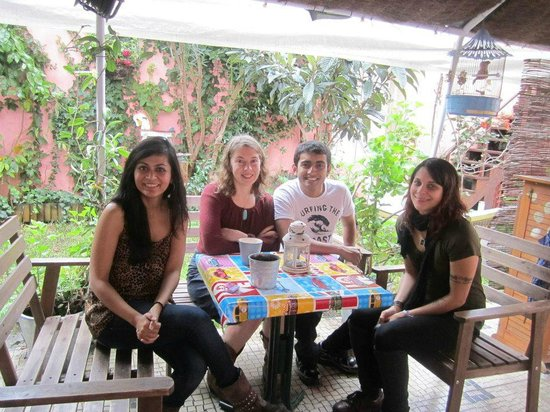 Alfama Patio Hostel: relaxing at the hostel