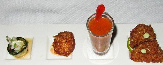 Infiniti Bar: Conch Appetizers