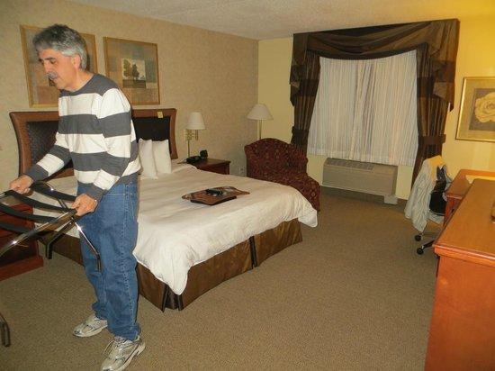 Hampton Inn & Suites Rockville Centre: rooom