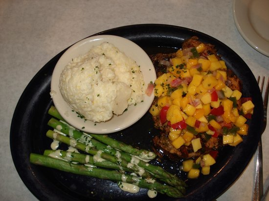 Food For Thought: Jamaican Jerk Chicken, Cheesy Grits, and Lemon-Butter Asparagus