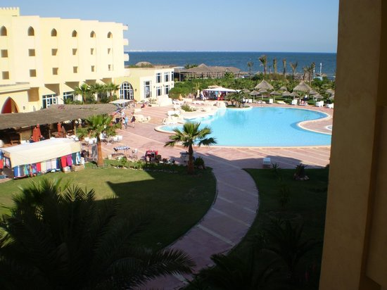 Skanes Serail : view from room 254