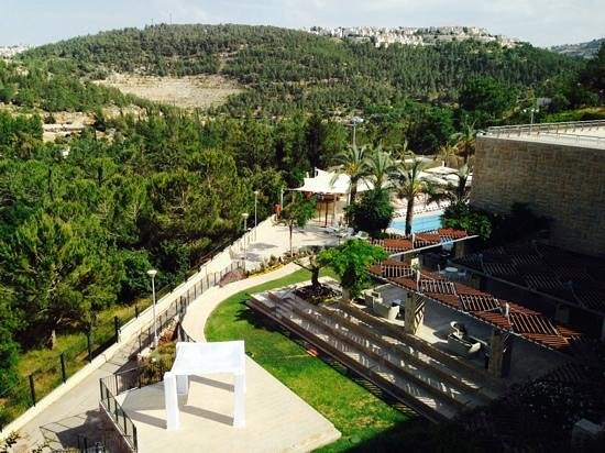 Hotel Yehuda : View from room 405