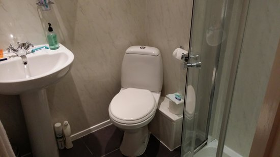 Westbourne Guest House : En suite toilet and showe in room 2