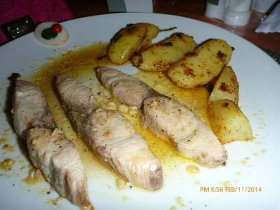 Ciao Italia: Tanigue with fingerling potatoes