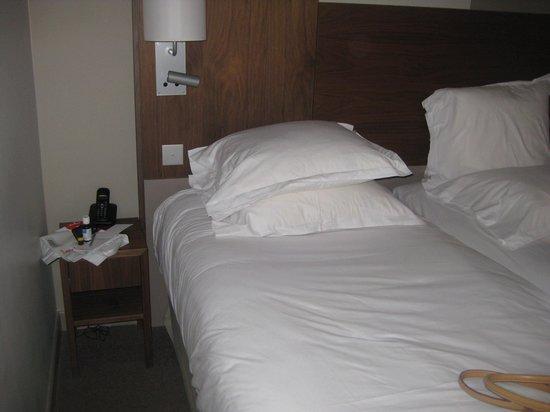 Hotel le Tourville : ziemlich enge Angelegenheit...