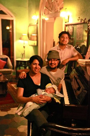 Ranjit's SVAASA: Piano Room