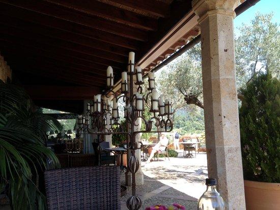 Valldemossa: restaurant extérieur