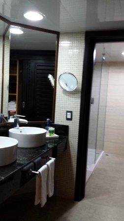 Bavaro Princess All Suites Resort, Spa & Casino: The bathroom.