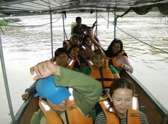 Cotococha Amazon Lodge: La hostería Cotococha ofrece varias distracciones como el recorrido por el río Napo.