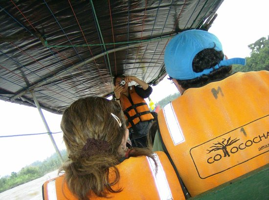 Cotococha Amazon Lodge: Un viaje seguro, con guía especializado por el río Napo.