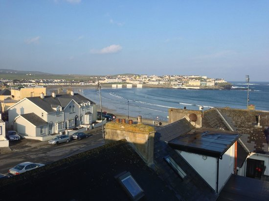 Stella Maris Hotel: View from our room at Stella Maris, Kilkee