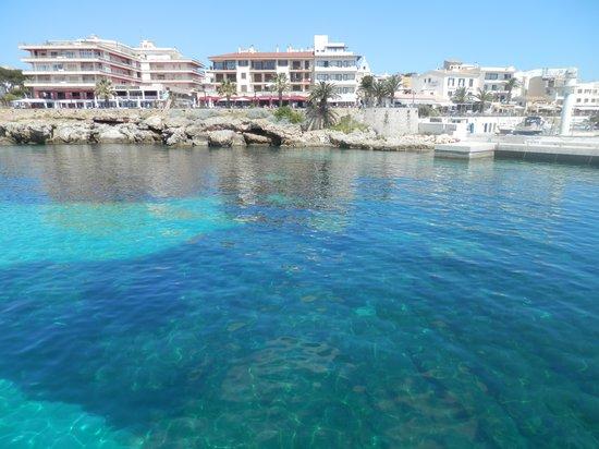 Hotel Palia Sa Coma Playa : Excurtion bateau arrivé Cala Ratjada